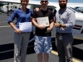 Congratulations to Jamin on obtaining his Private Pilot Certificate, as well as to his instructor, Michael Curry