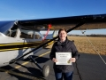 Congratulations to Jenna Pitcher on her Commercial Fixed Wing Certificate! 1/11/2019