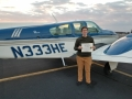 Jenna Pitcher is now a Multi-Engine Commercial Pilot! 1/28/2019