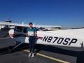 Congratulations to Michael Chang! Private Pilot 2/2/2019