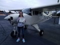 Congratulation to our latest Commercial Rated Pilot, Maggie Mayeux! 2/14/2019