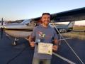 Nasser Elkhatib, Commercial Pilot! 3/28/2019