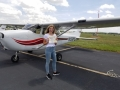 Congratulations to Natalie Galloway! Private Pilot! 7/17/2019