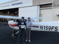 Bob Squier is now a Certificated Private Pilot! 11/2/2017