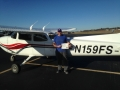 Congratulations to Eric Labraaten on his first Solo flight! 12/11/2017