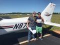 Congratulations to Jack Liang on his first Solo Flight!