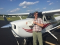 Congratulations to Dick Williams for obtaining his Commercial Pilot Certificate! 5/9/2018