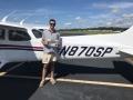 Congratulations to Ryan McCutchen on his first Solo flight! 9/13/2018