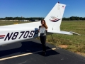 Alice Vysata, Private Pilot 10/17/2017