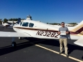 Luke Townsend flew his first Solo Flight! 10/26/2017