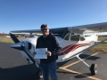 Congratulations to Trevor Dimsdale on his first Solo Flight! 11/20/2017